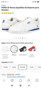 Amazon: PUMA SF Roma 4.5 MX (6.5 US)