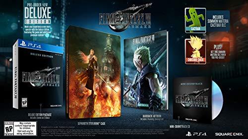 Amazon - Preventa de Final Fantasy VII Deluxe Edition