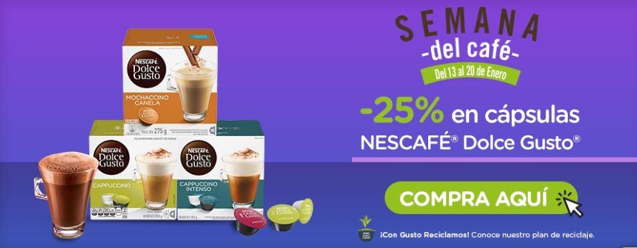 Dolce Gusto: Hasta 30% Semana del Café