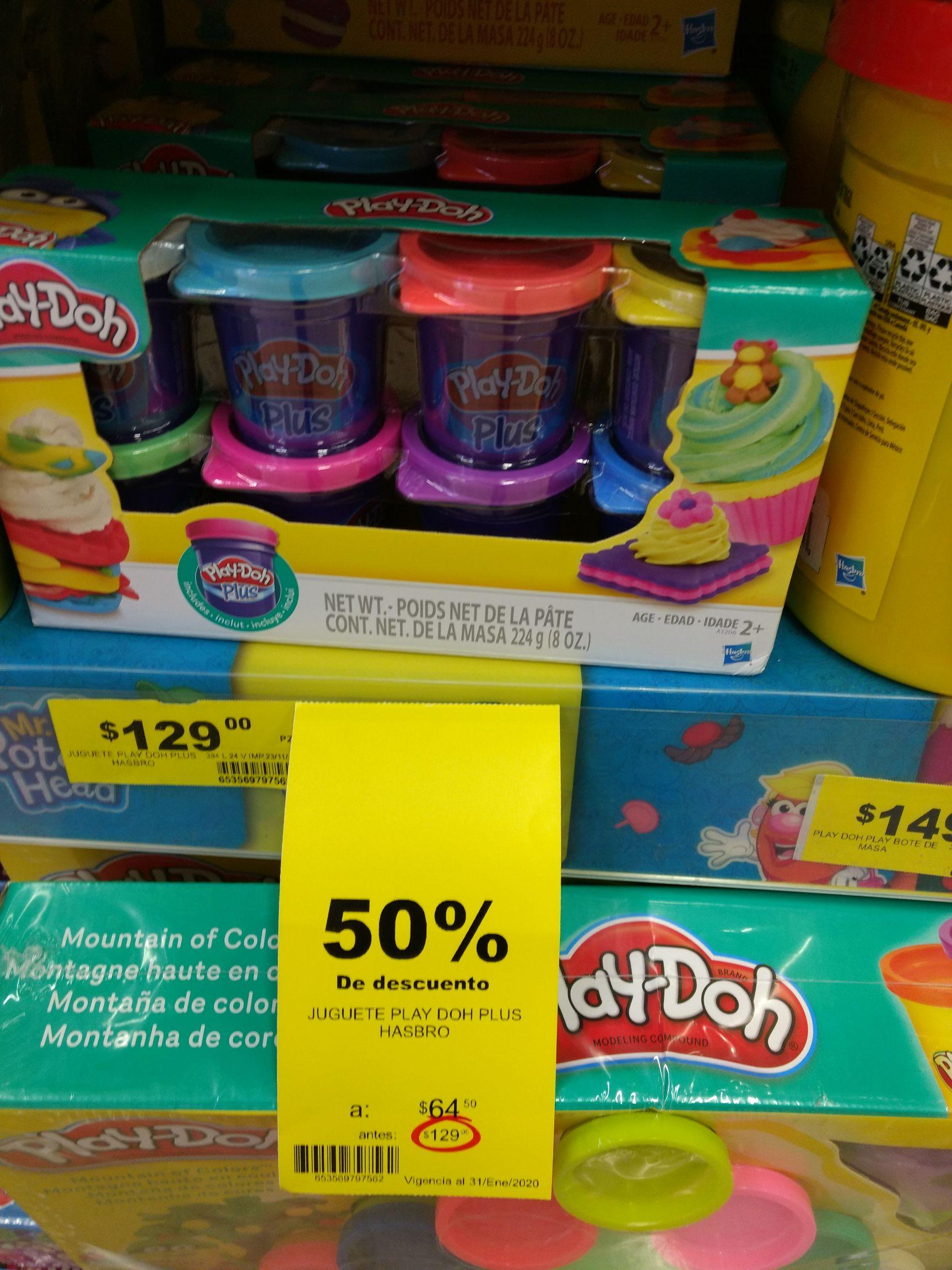 Soriana Mega: Play Doh Plus 50% de descuento
