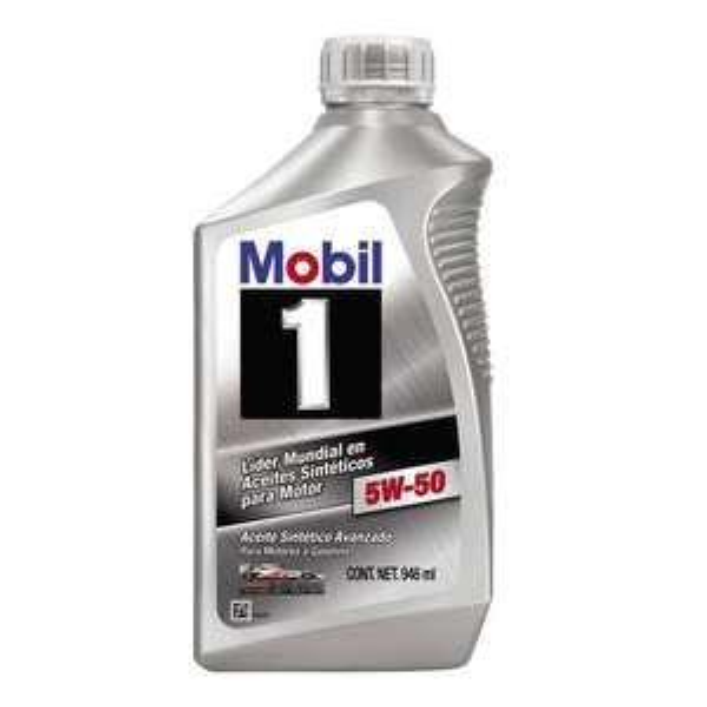 Walmart Online: 12 botellas (946ml) de aceite SINTÉTICO Mobil 1 5w50 a $1,069