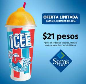 Sam's Club: Icee a $21 (nivel nacional)