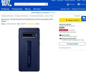 Best Buy: Funda Samsung protective S10