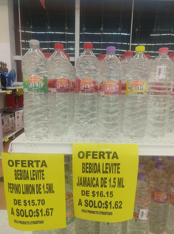 Soriana: Liquidación agua levite