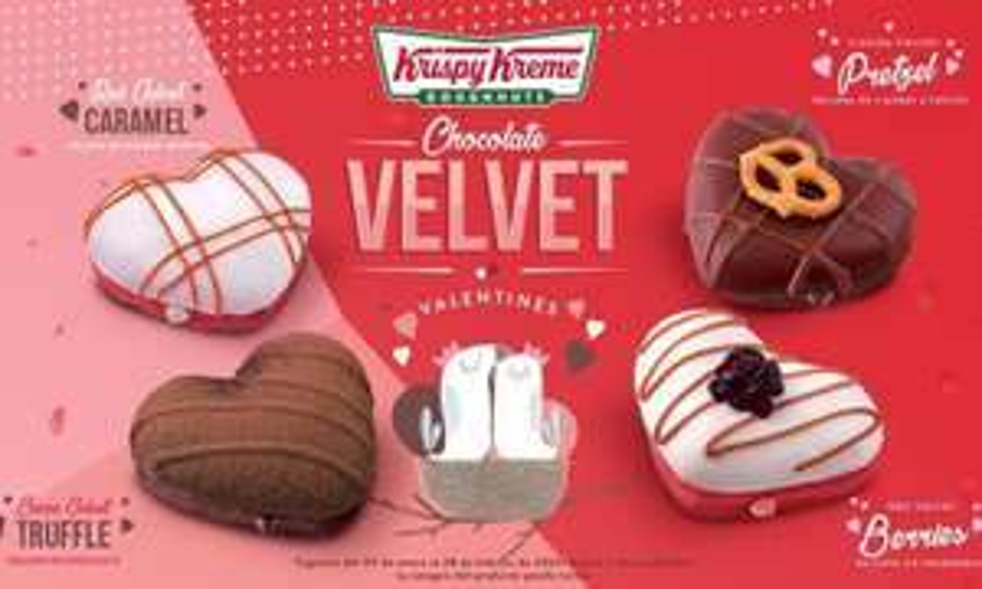 Krispy kreme (Peixe): Media docena de Donas Select mix a elegir, incluye Temáticas San Valentín <3