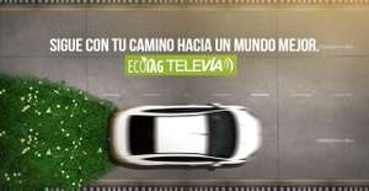 Televía: AUTOS HÍBRIDO O ELÉCTRICOS 20% de descuento en autopistas urbanas.
