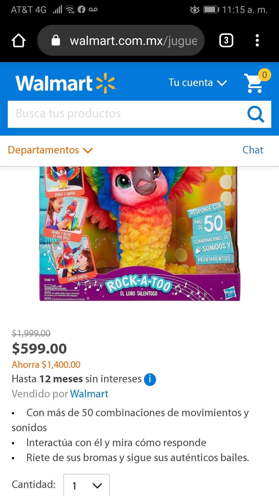 Walmart Furreal