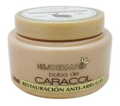 Walmart Super: Crema New Derma baba de caracol restauración anti arrugas 200 ml