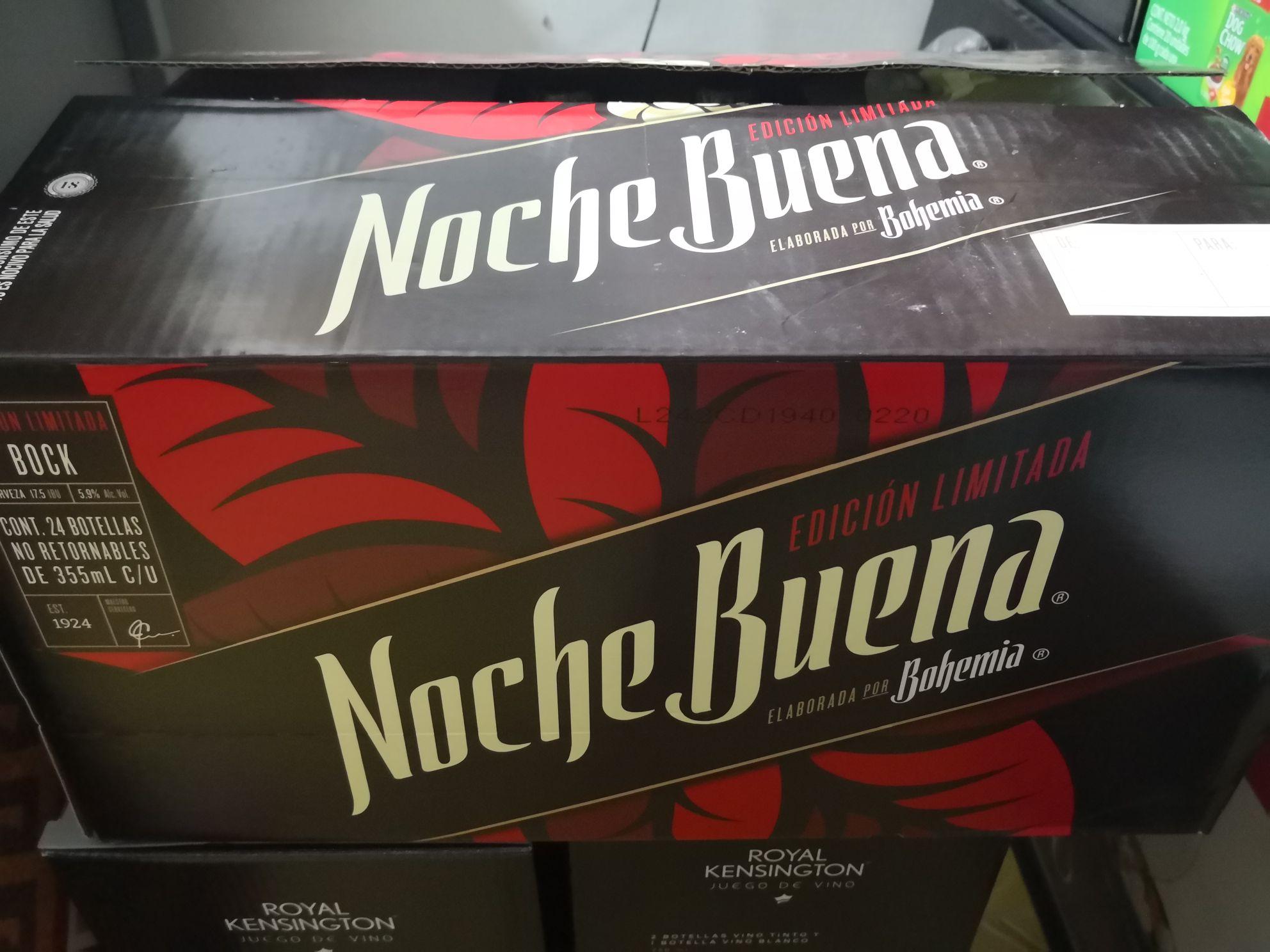 City club Villahermosa: cerveza noche buena 24 pack a 249