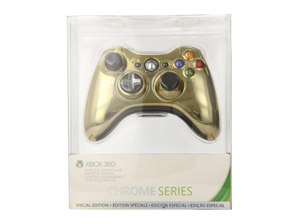 Liverpool en línea: Control dorado Xbox 360 a $486 con cupón -último día-