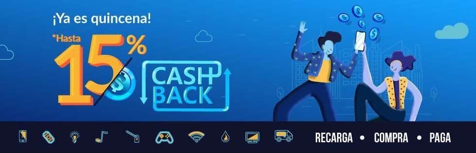 UnDosTres: ¡Hasta 15% Cashback En Cada Quincena! (TODO 2020)