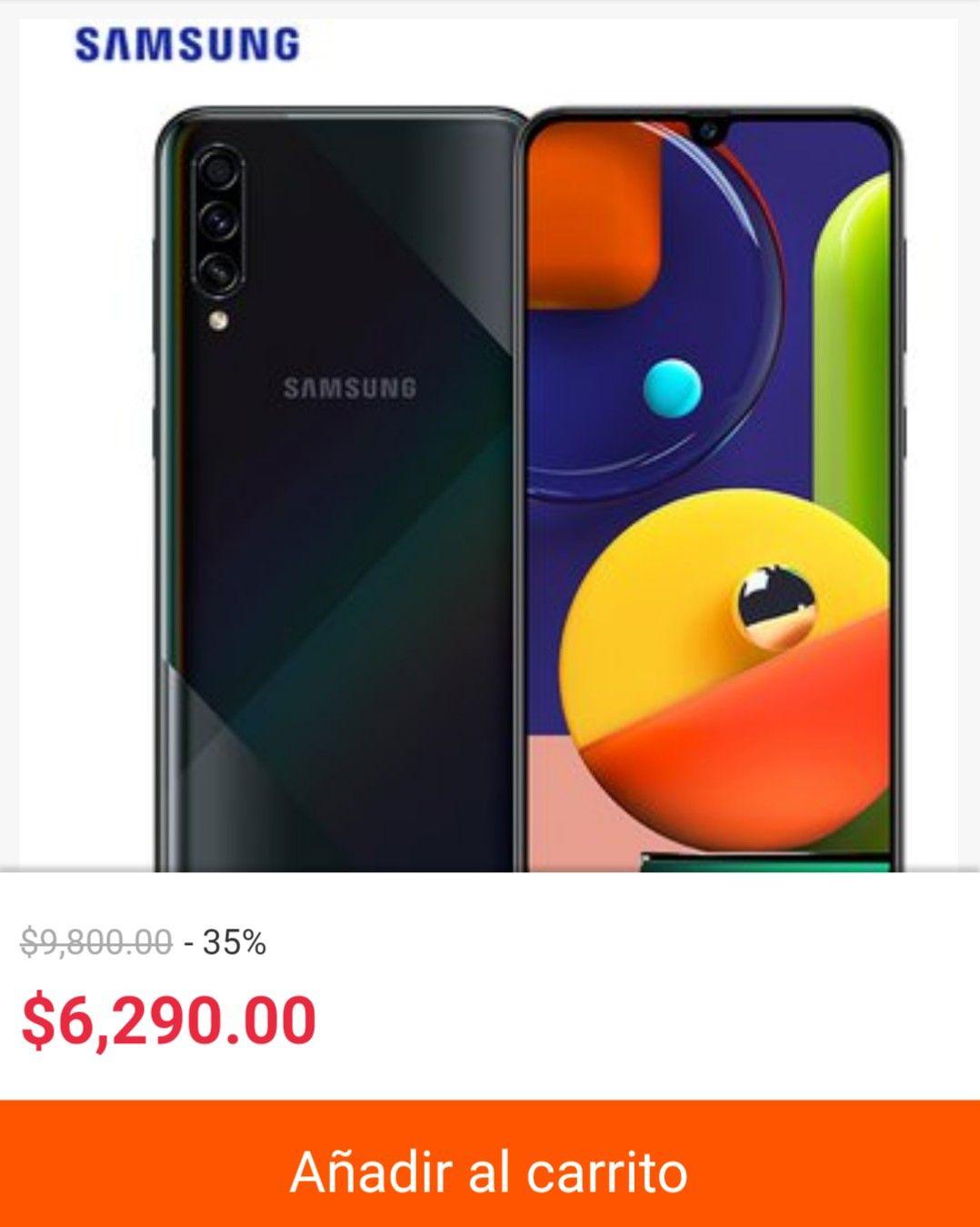 Linio: Samsung a50s