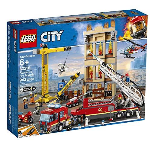 Amazon LEGO City Brigada de Bomberos del Centro
