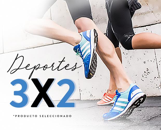 Osom y Promoda: 3 x 2 con hasta 60% off en producto seleccionado de Deportes