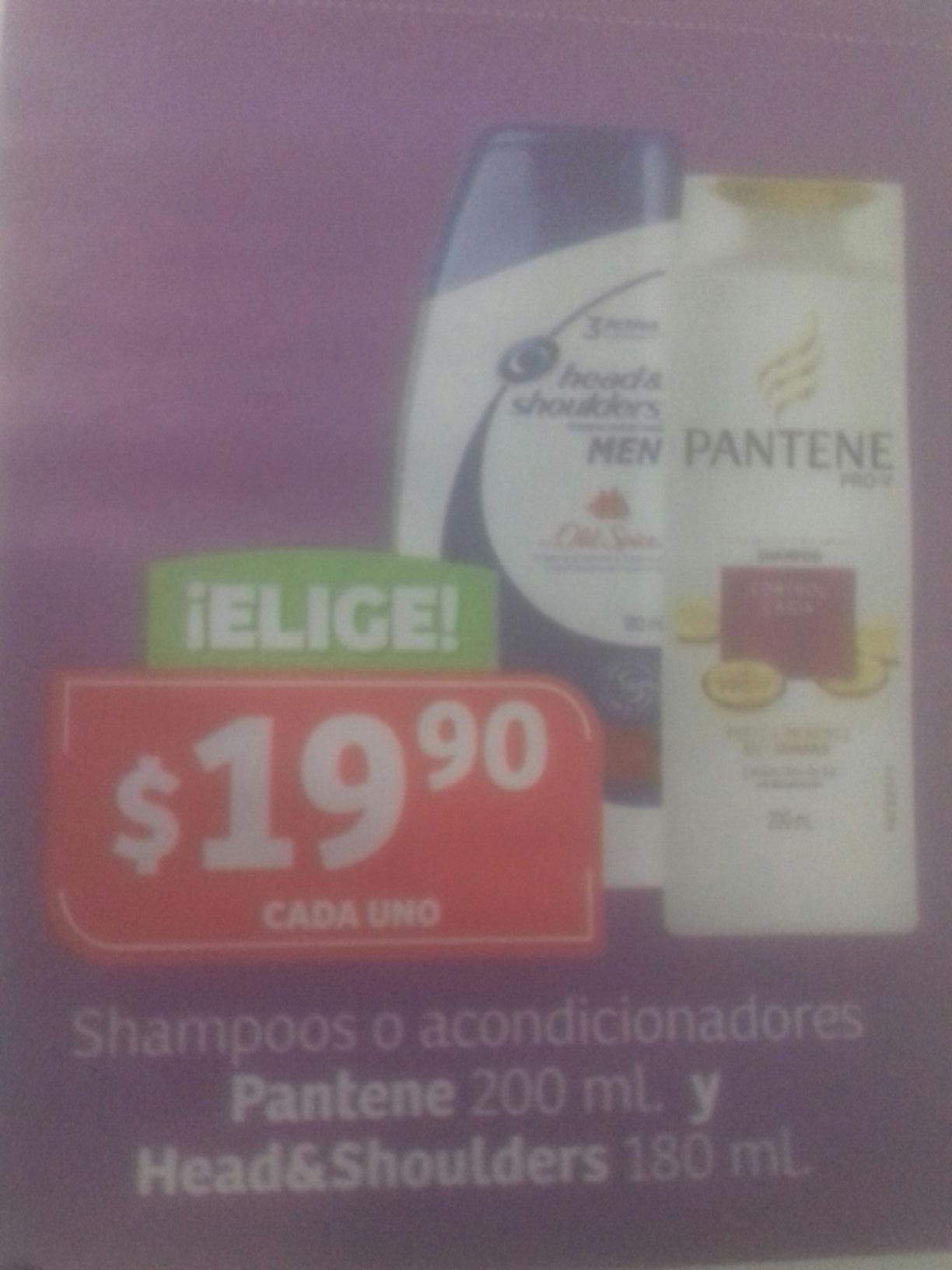 Soriana Shampoo ó acondicionador
