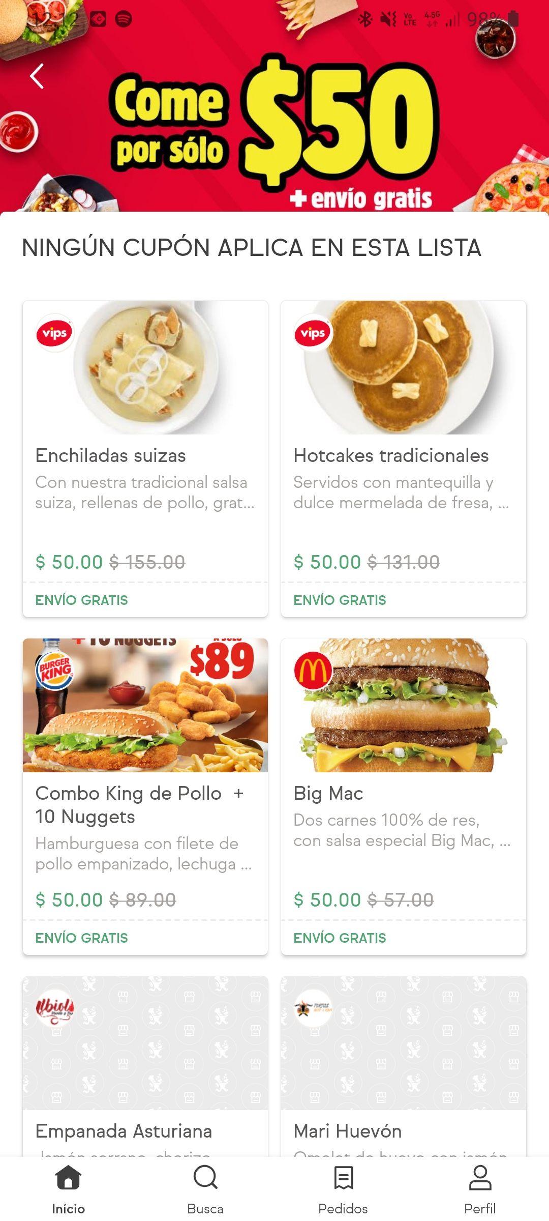 Sin delantal come por solo $50 pesitos envió gratis