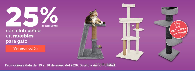 Petco 25% de Descuento en muebles para Gato