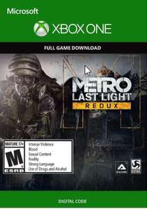 CDkeys: Metro Last Light Redux Xbox One