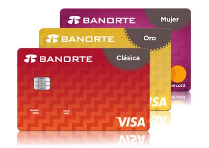 Banorte: Primer anualidad sin costo + 10 MSI al contratar TDC por internet.