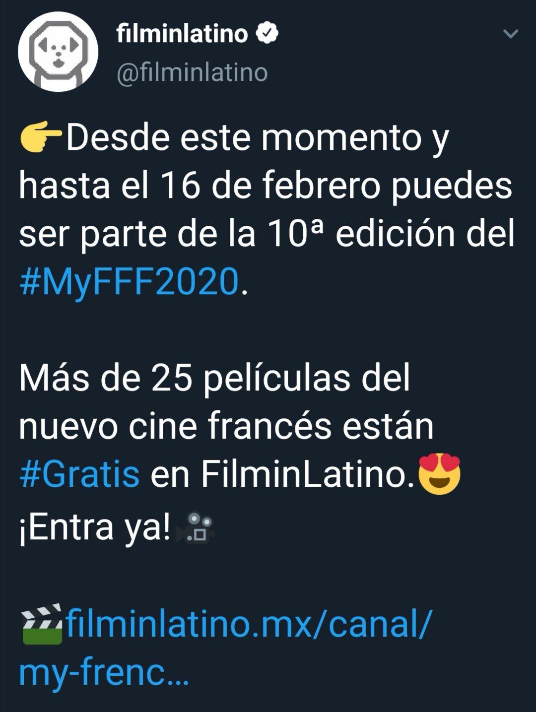 Filminlatino Cine francés gratis en línea