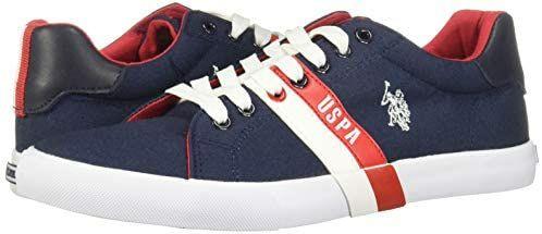 Amazon: sneakers para hombre marca US Polo ASSN modelo PETER Talla 27
