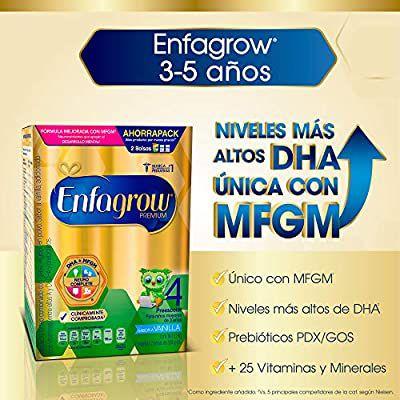 Amazon: Enfagrow Premium Vainilla Etapa 4 Caja de 1,100 gramos