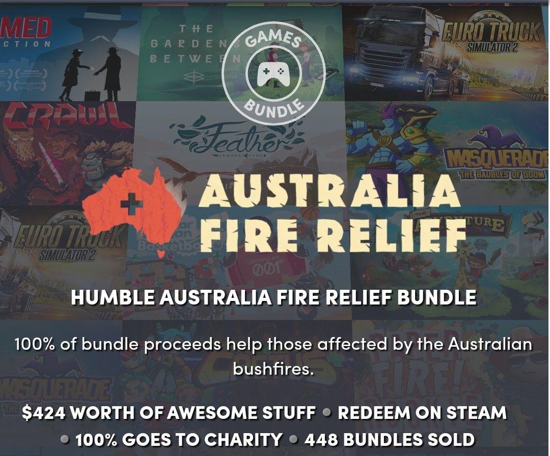 Humble Bundle a favor de Australia