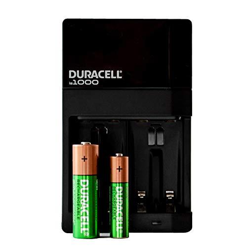 Amazon: Duracell Cargador de Baterías, Incluye 4 Baterías AA