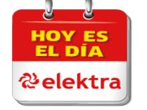 Elektra: Día Elektra, descuento en varios departamentos