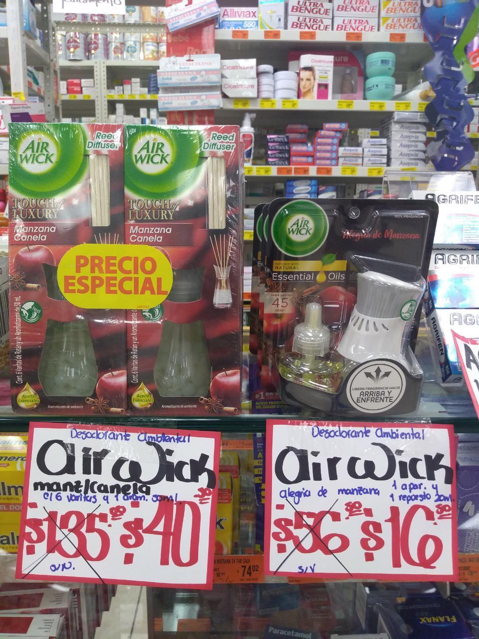 Farmacias Guadalajara: Desodorante Ambiental aromas Navidad 70 % desc