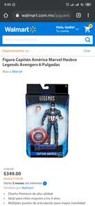 Walmart: Capitán America Marvel Legends
