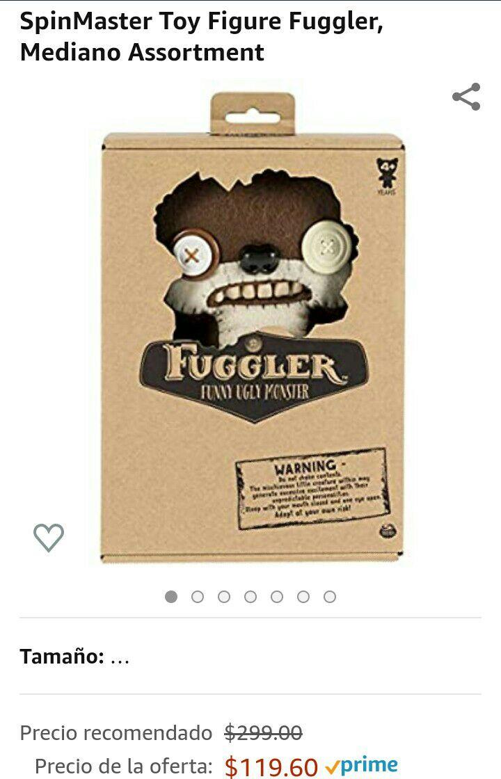 Amazon: Muñeco fuggler (modelo aleatorio)