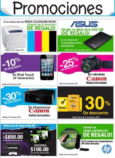 Papelerías Lumen: 25% de descuento en cámaras Cannon, disco duro gratis con compra y más