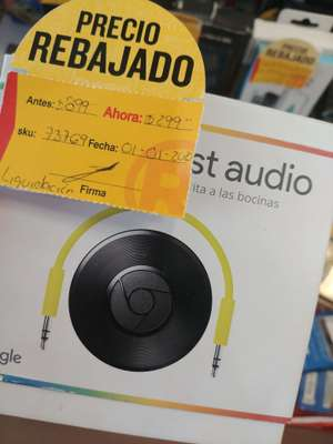 Radioshack: Chromecast Audio