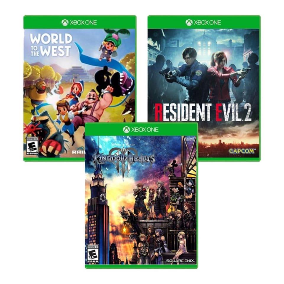 Walmart en línea: Kindom Hearts Xbox One Más Resident Evil 2 y World to the West