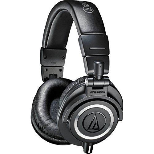 Amazon: Audio-Technica, Audífonos Profesionales ATH-M50X, Negro