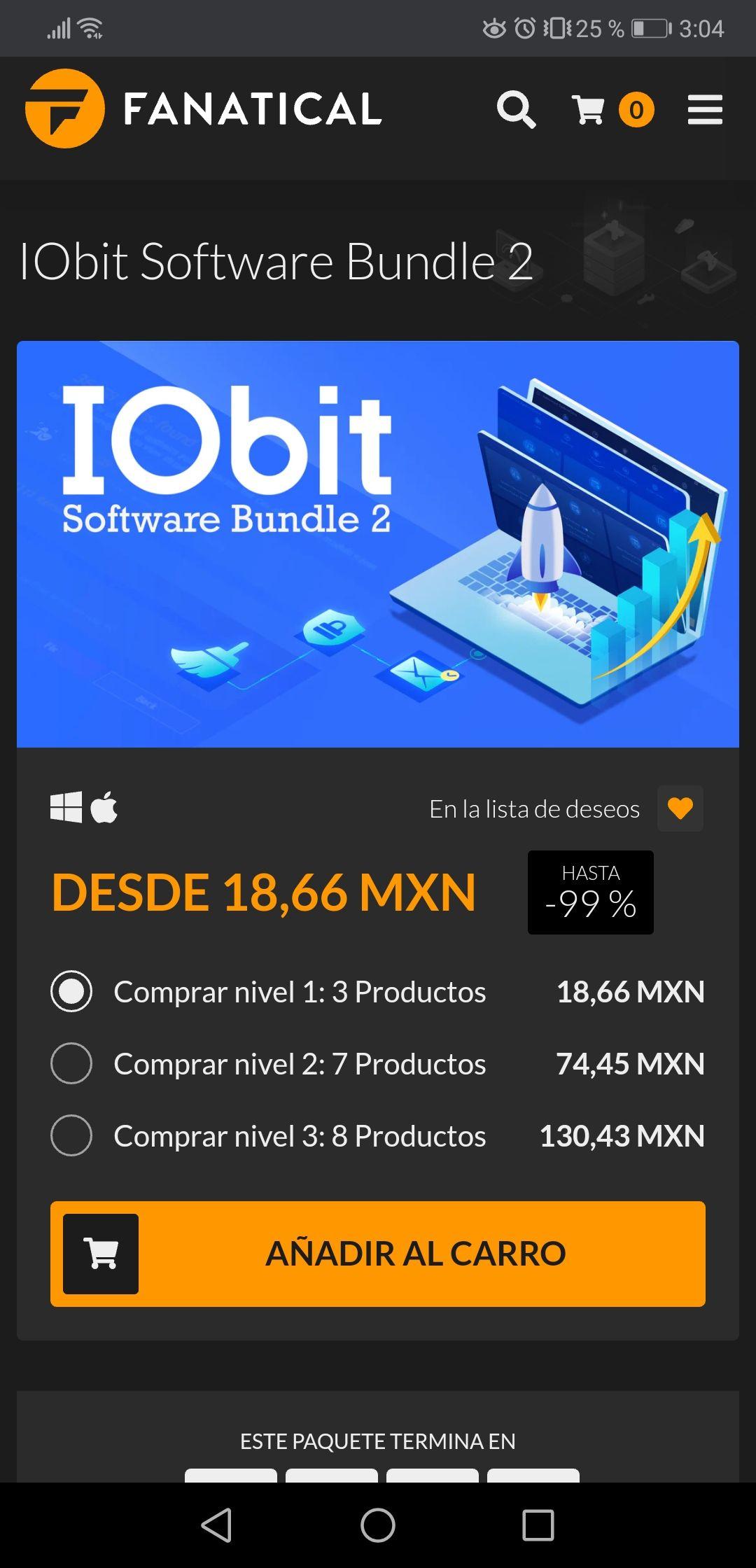 Fanatical IObit Software Bundle 2