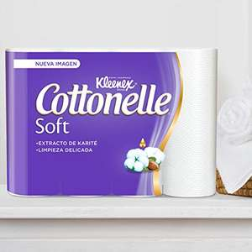 amazon: Kleenex Cottonelle Soft, Papel Higiénico 24 Rollos $83.20 con carrito del ahorro+planea y ahorra