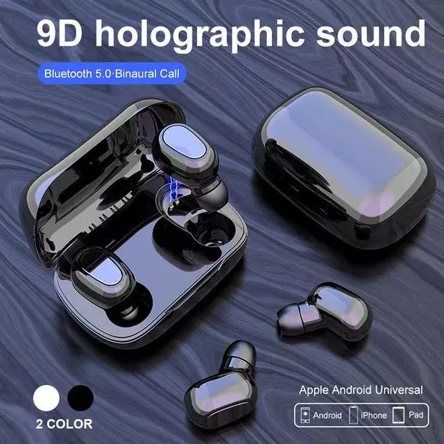 AliExpress Audífonos inalámbricos 9D holographic sound