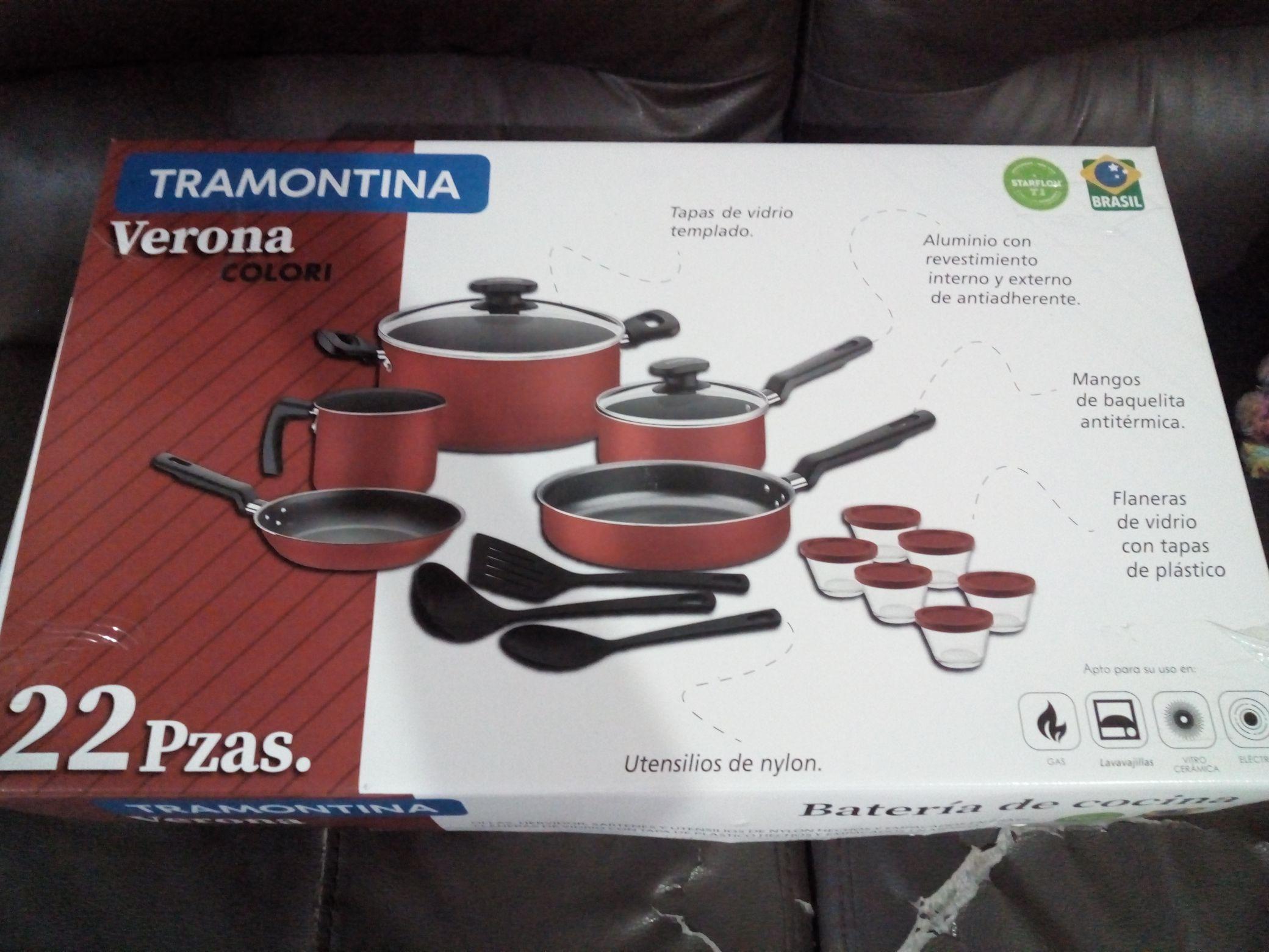 Walmart: Batería de Cocina Tramontina