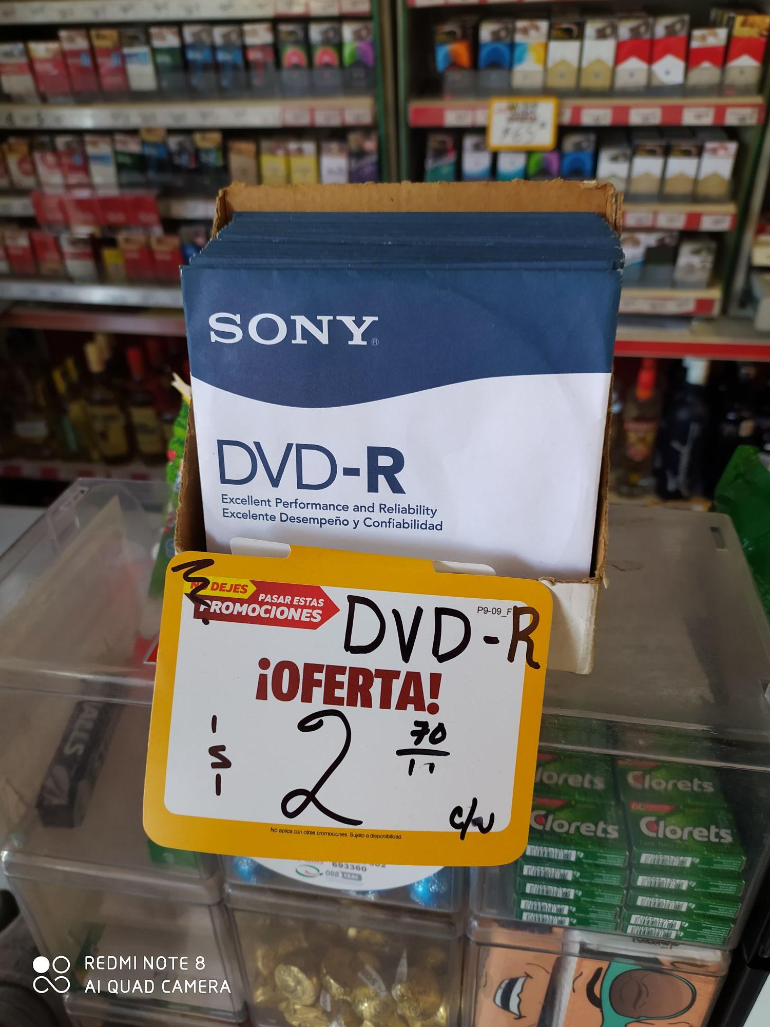 OXXO: DVD-R