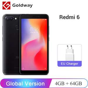 Aliexpress: Xiaomi Redmi 6 Versión global 4GB/64GB