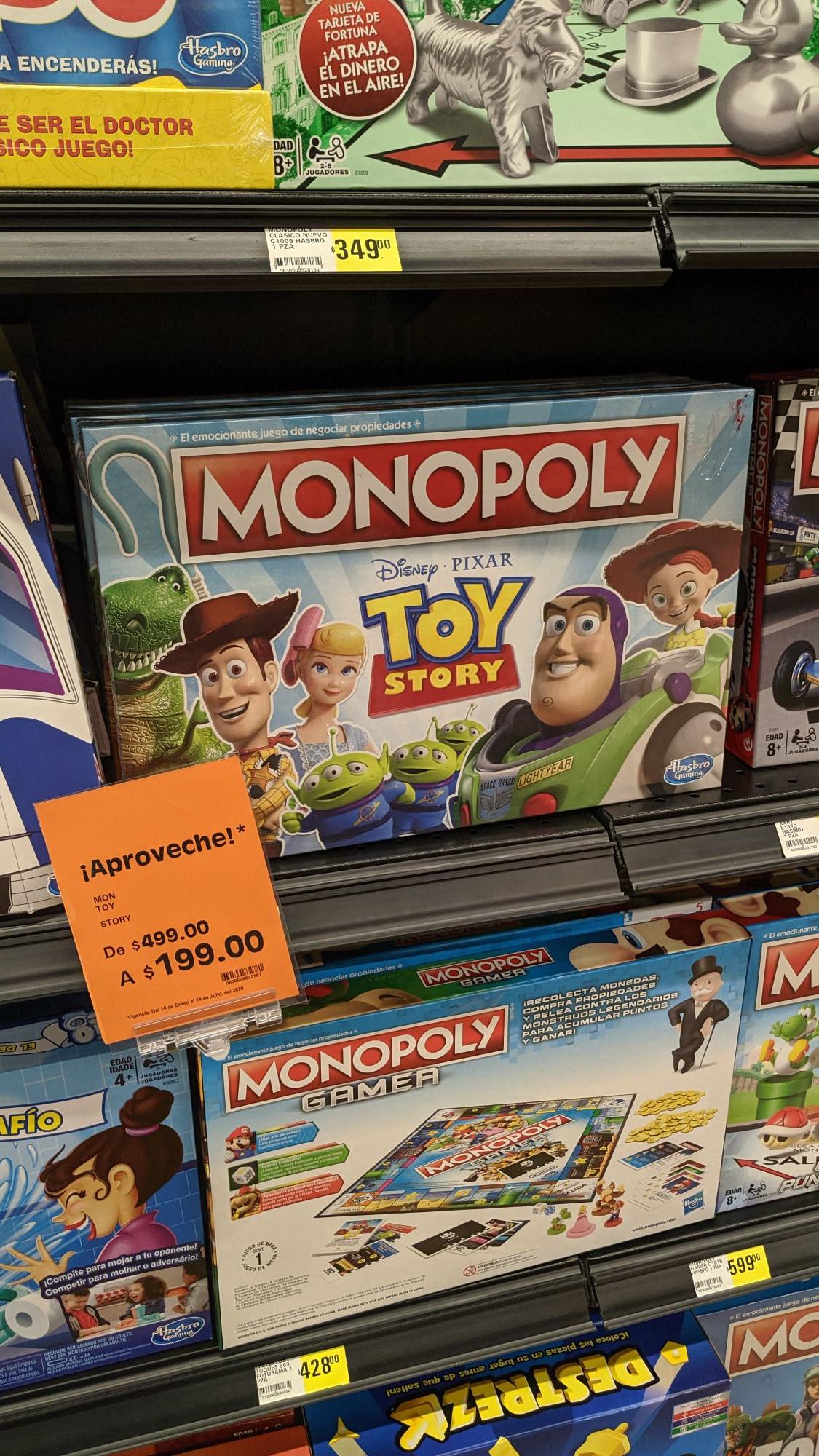 Fresko: Monopoly Toy Story