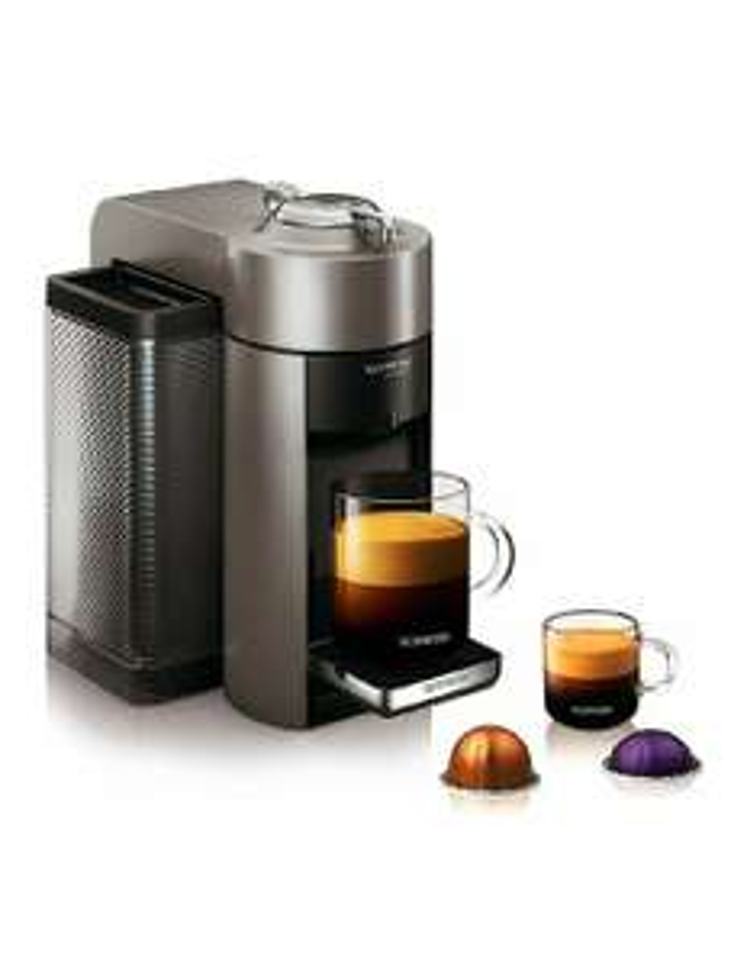 Amazon: Nespresso Vertuo Coffee and Espresso Machine by De'Longhi, Incluye Kit de Cápsulas de Regalo.