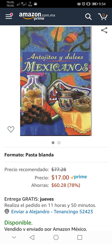 Amazon: Antojitos y Dulces Mexicanos pasta blanda