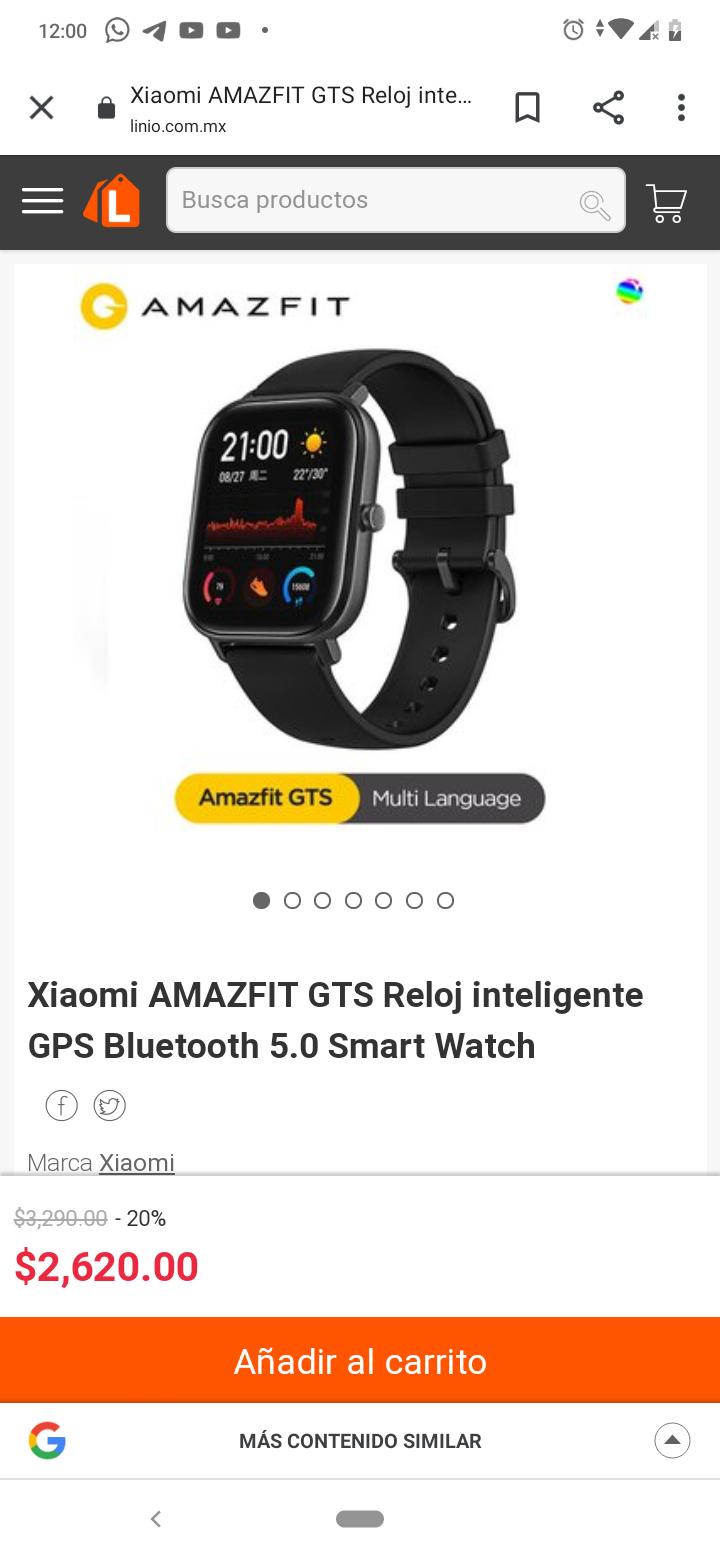 Amazon: Amazfit GTS