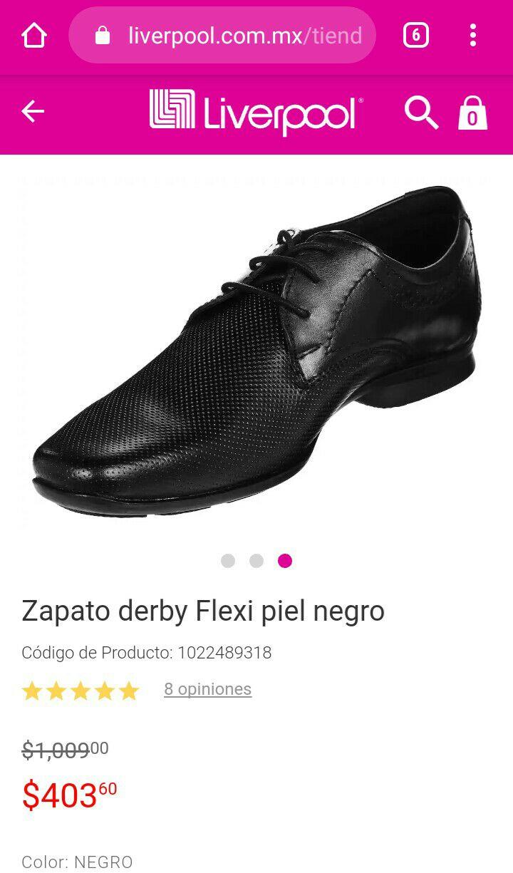 Liverpool: Zapato Flexi