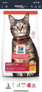 Amazon: 7.2kg Hill's Science- Alimento para Gato Adulto