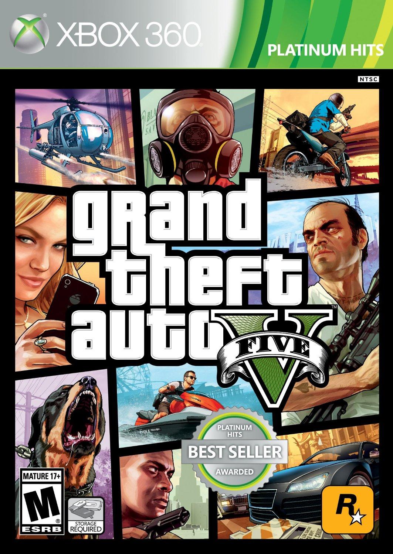 Amazon: GTA V para Xbox 360 a $351.13