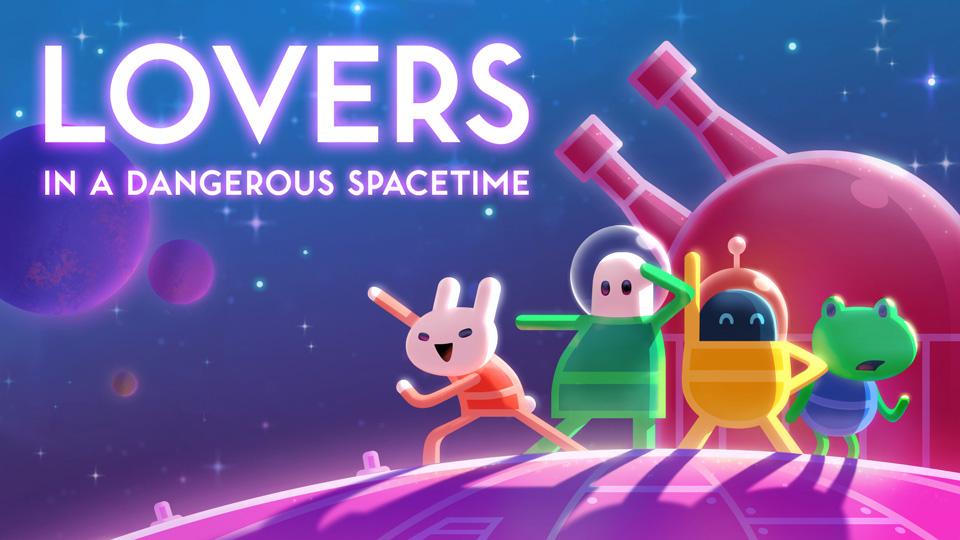 Nintendo eShop:Lovers in a Dangerous Spacetime para Switch